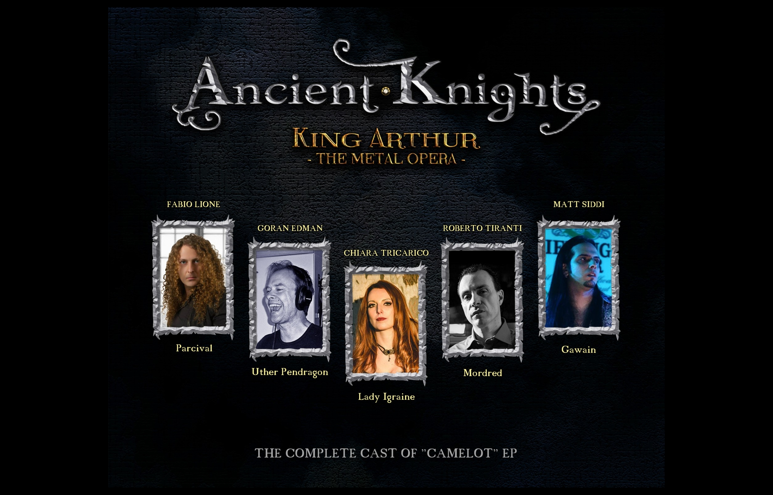 "Il debut album ""King Arthur-The Metal Opera"" degli Ancient Knights"