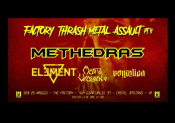 FACTORY THRASH METAL ASSAULT seconda edizione