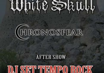 Il 16 Novembre WHITE SKULL e CHRONOSFEAR all'ARCI TOM di MANTOVA