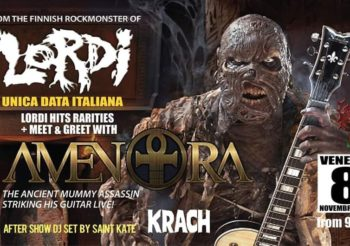 AMEN RA  from LORDI live stasera al KRACH CLUB!