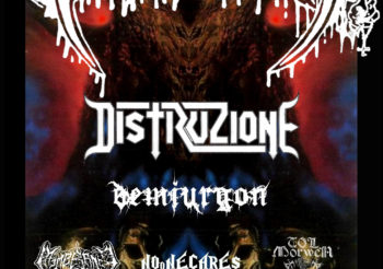 Tre date per i BENEDICTION in ITALIA!