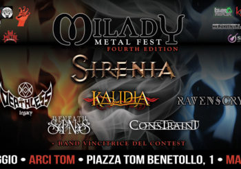 ELYSIUM ed EMPATHICA entrambe in finale per il contest del MILADY METAL FEST
