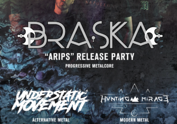 Il 13 Marzo al THE FACTORY ci sarà il release party dei BRASKA, con loro UNDER STATIC MOVEMENT e HUNTINGAMIRAGE