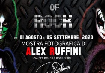 "A FORTE MARGHERA la mostra fotografica di ALEX RUFFINI  ""MONSTERS OF ROCK"""