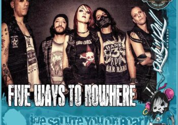 Five Ways To Nowhere: announce participation of the Swiss Rock Cruise